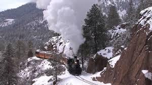 winter steam durango silverton narrow railroad