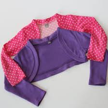 cute jacket pattern step by step tutorial to make this cute little bolero knit jacket to