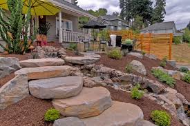 Walkway Ideas For Backyard by Stepping Stone Walkway Ideas Ryno Lawn Care Llc