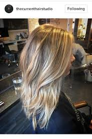 medium lentgh hair with highlights and low lights blonde hair balayage highlights lowlights bronde medium