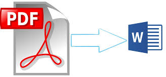 Pdf To Word How To Convert Pdf File To Word Document Without Software