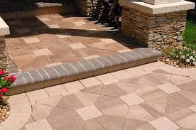 Lowes Patio Stone by Stone Texture Exterior Design Terrific Tremron Pavers For Your