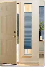 accessories gray sidelight blinds with white door and white