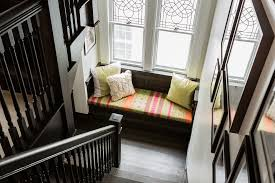 Dark Wood Banister Dark Wood Stairs With Dark Wood Banister Staircase Contemporary