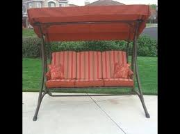 Patio Furniture Fabric Replacement by Osh Patio Swing Cushions Seat Support And Canopy Fabric