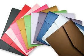 pocket folds metallic diy pocketfold envelopes invitations