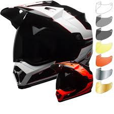 motocross helmet with shield bell mx 9 adventure mips stryker dual sport helmet u0026 visor bell