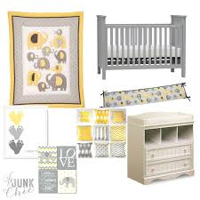 be junk chic elephant yellow u0026 grey nursery