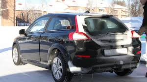 volvo hatchback volvo c30 mule spied in the cold