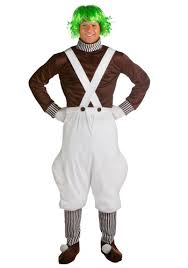Candyland Halloween Costumes Chocolate Factory Worker Costume Oompa Loompa