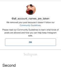 Meme Account Names - account names are taken we removed your post because it doesn t
