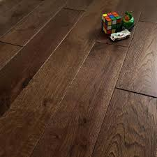 quin coffee oak 125mm rustic brushed matt lacquered solid