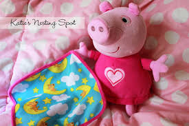 katie u0027s nesting spot new peppa pig toys book and app for kids