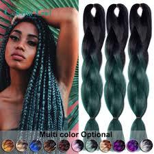 how much is expression braiding hair 24inch jumbo twist crochet braids 100g pack ombre braiding hair