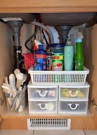 kitchen organization ideas for the inside of the cabinet under kitchen sink storage future home pinterest kitchen sink