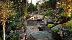 Backyard Patios With Fire Pits 19 Backyards With Amazing Landscaping Page 4 Of 4