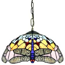 Stained Glass Pendant Light Stained Glass Pendant Lighting Vintage Stained Glass Hanging Light