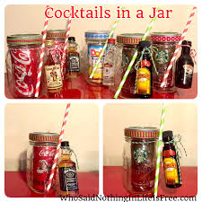 diy holiday gift idea cocktails in a jar anyone down for diy
