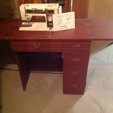 White Sewing Machine Cabinet find more white sewing machine model 966 with cabinet for sale at