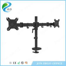 china jeo d29c adjustable computer monitor stand riser desk clamp