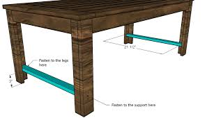 Woodworking Plans Coffee Table Legs ana white build an outdoor coffee table hamptons outdoor table