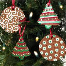 painted cinnamon ornaments allfreechristmascrafts