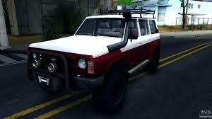nissan patrol 1990 modified nissan patrol for gta san andreas