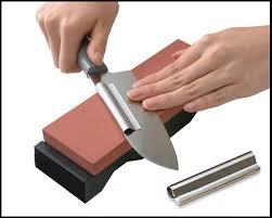 comment aiguiser un couteau de cuisine comment aiguiser et moudre un couteau comment aiguiser le couteau