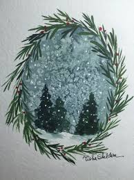 christmas cards in watercolor 17 best ideas about watercolor christmas cards on merry