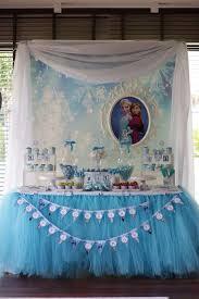 frozen disney birthday ideas dessert table birthdays