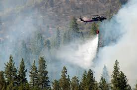 Wildfire Yosemite 2013 by National Guard Battles Northern California Wildfires Article