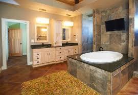 Soapstone Bathtub Craftsman Master Bathroom With Specialty Door By Whicker