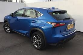 cvt lexus used 2017 lexus nx 300h 2 5 se 5dr cvt for sale in derbyshire