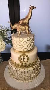gold giraffe cake topper large safari theme giraffe party table