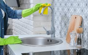 what is the best way to clean kitchen cabinets how to clean your sink drains faucet garbage disposal