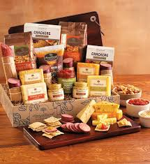 cheese gift meat and cheese gift box meat cheese gift baskets harry david