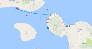 Race Map Usa by Pailolo Challenge Outrigger Canoe Race From Maui To Moloka U0027i
