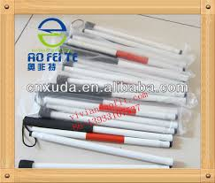 Blind People Canes Sale Folding Blind Cane White Canes Sticks For Blind People