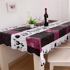 flannel backed vinyl table pad 140 180cm flannel backed wipe clean pvc vinyl tablecloth dining