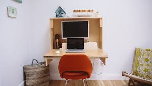 Diy Wall Desk How To Fold Up Wall Desk Crafted Fairly