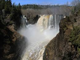Minnesota waterfalls images North shore minnesota waterfalls highest in the state jpg