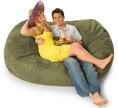 6 foot mojobagz foam filled bean bag sofa ms 6ov
