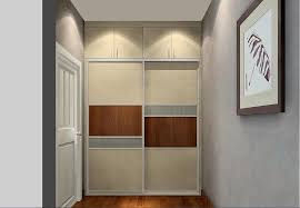 modern style bedroom door and wardrobe 3d house