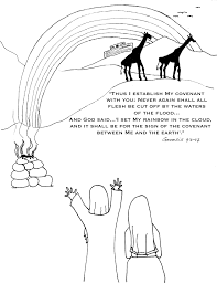 flood coloring pages coloring page kidsbible page 3