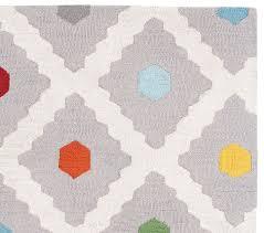 kids rugs multi dot rug pottery barn kids
