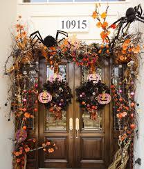 front doors print hallowesen front door decorations picture 116