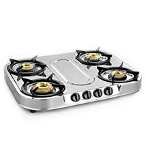 Gas Stainless Steel Cooktop Buy Sunflame Spectra Plus Stainless Steel 4 Burner Cooktop Online