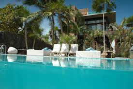 pool and lounge of oasis design ideas of contemporary resort