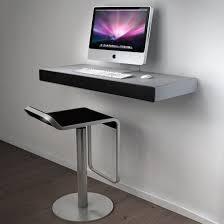 superminimalist com super minimalist wall mounted imac desk on white wall minimalist