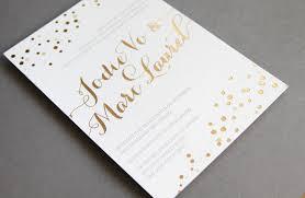 wedding invitations gold foil gold foil wedding invitations plumegiant